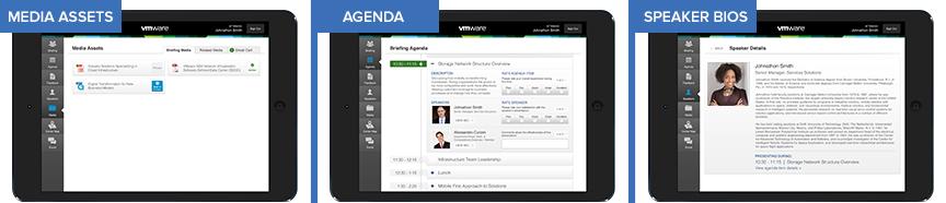 Media Agenda Bio Tablet App