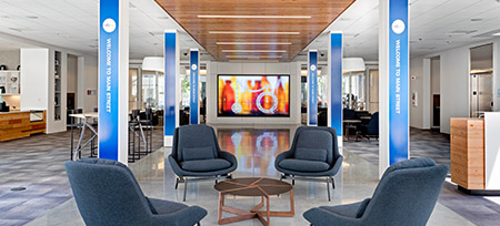 corporate office experience center