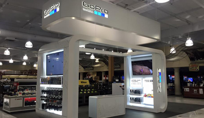 GoPro Teams Up with Signet for Innovative Retail Kiosk Experience