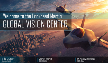Lockheed Martin Updates their Global Vision Center's Welcome Experience