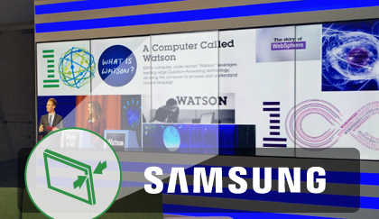 Samsung Videowall Displays Reducing Bezel Width Even Further