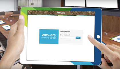 Meet the Newly Deployed VMware Briefing Application