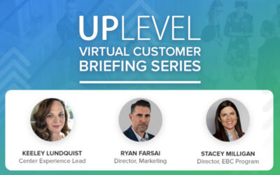 UPLevel Webinar – Strategic Marketing for Briefing Program Awareness